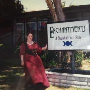 This is me in front of Enchantments.
