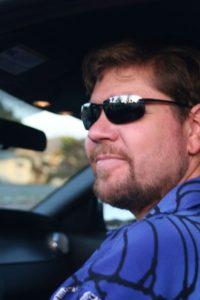 Brett in his Mustang